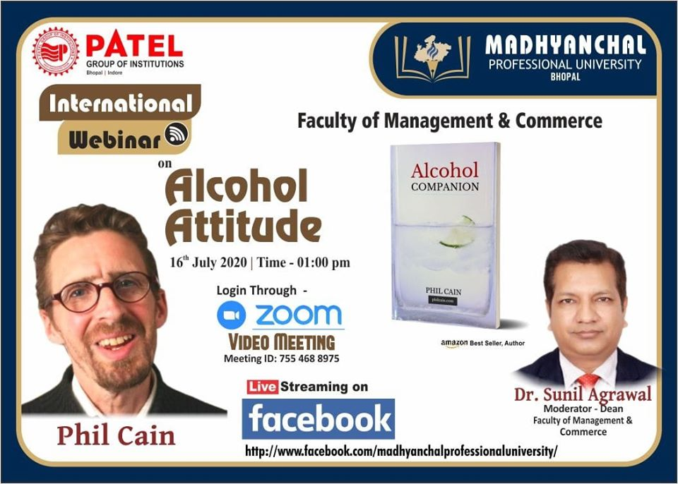 International Webinar on Alcohol Attitude