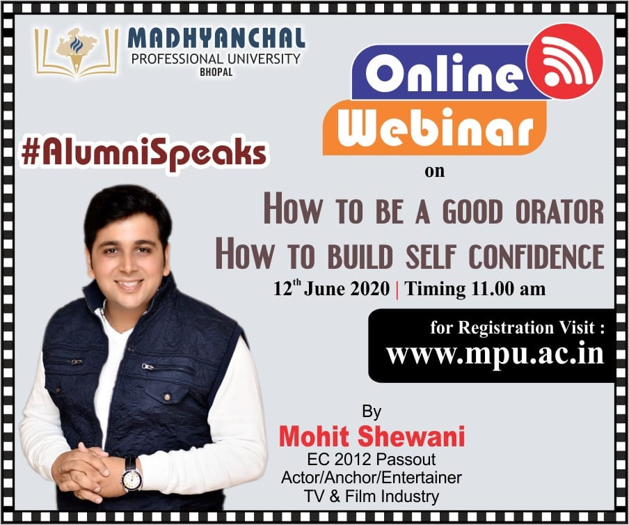 How to Be a Good Orator, How to Build Self-Confidence By Mohit Shewani